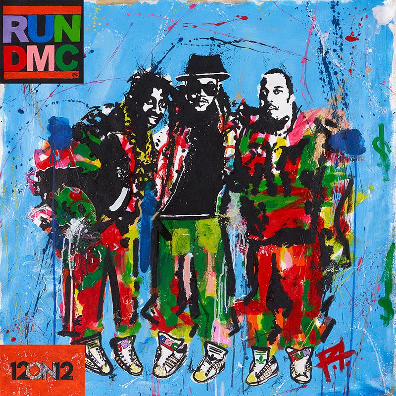12on12 RUN DMC Limited Edition Vinyl Cover